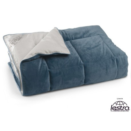 Plaid Lestra FJORD Micro-polaire bleu