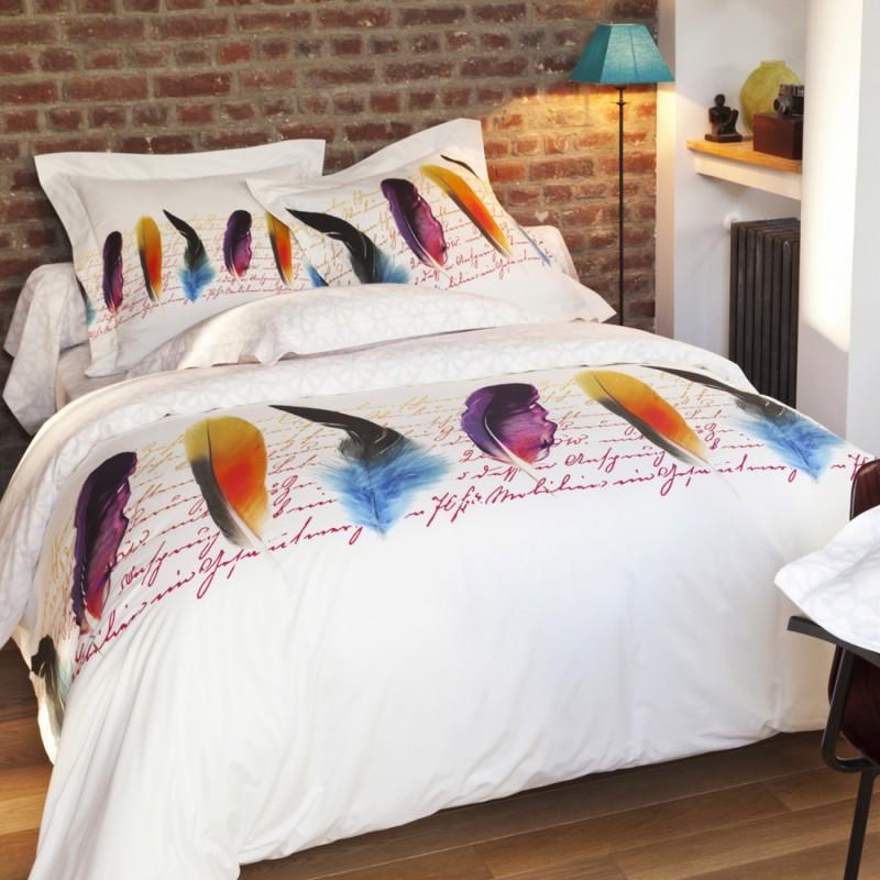 linge de lit plumetis tradition des vosges. Black Bedroom Furniture Sets. Home Design Ideas