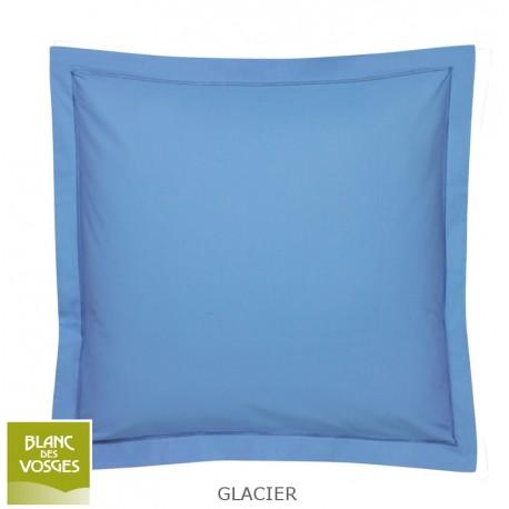 Drap plat uni Coton Blanc de vosges Glacier