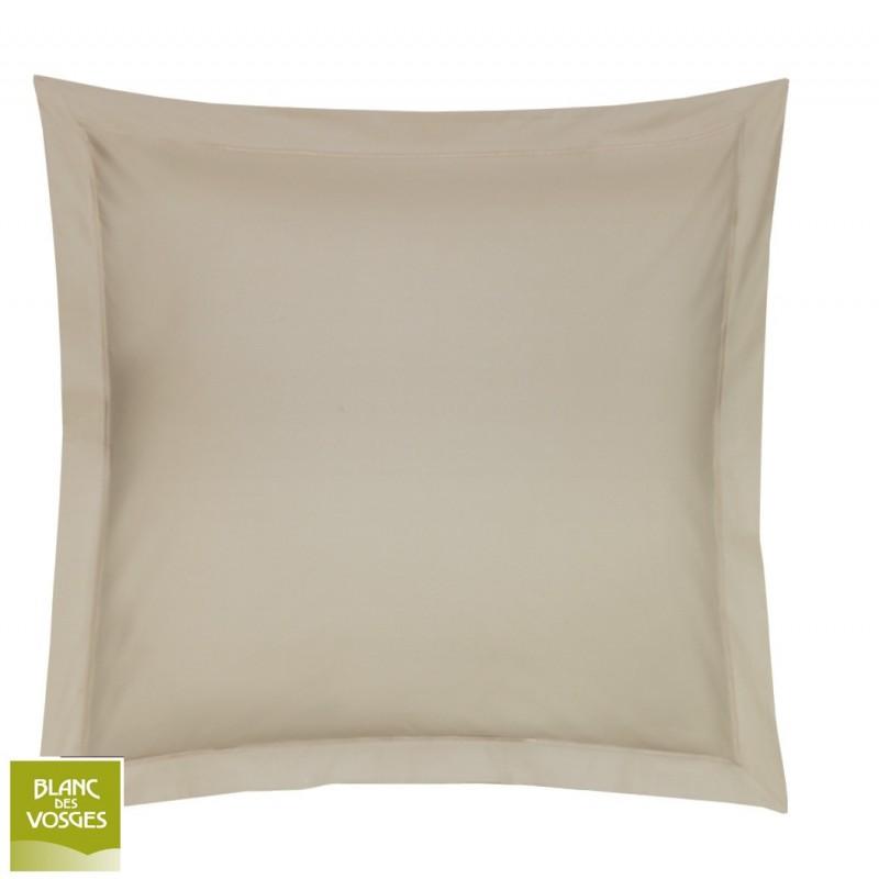 draps housses unies satin blanc des vosges. Black Bedroom Furniture Sets. Home Design Ideas