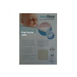 Drap housse microperforé Aérosleep baby