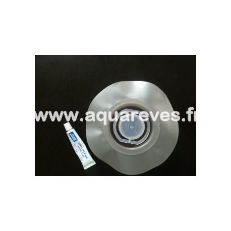 Bouchon pour matelas à eau avec valve