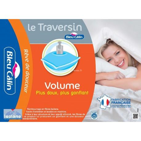 Traversin Volume Bleu Câlin