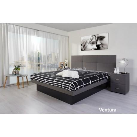 Lit à eau SMILE Poseidon + Tête de lit VENTURA
