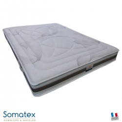 Matelas Ile de ré - Latex perforé - 7 zones