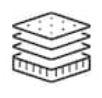 Structure du matelas fidji