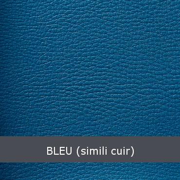 Bleu Simili cuir