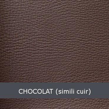 chocolat simili cuir