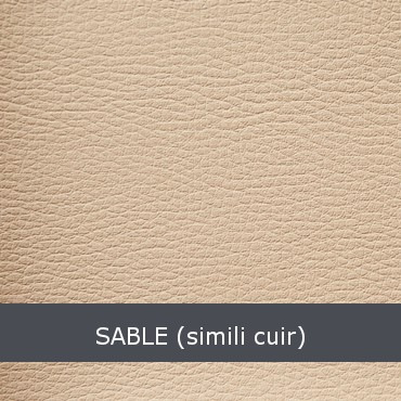 sable simili cuir