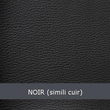 noir simili cuir