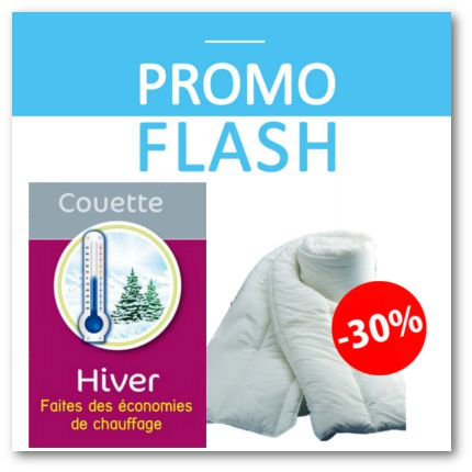 couette hiver moins 30%